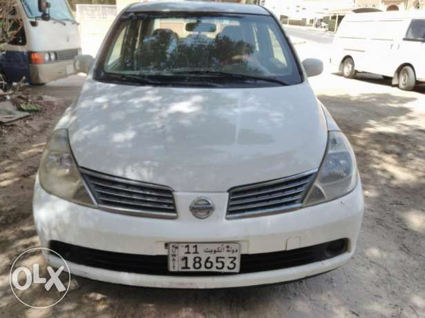 Nissan Tida 2006 white for sale