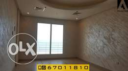 Sea view two bedroom semifurnished apartment in Salmiya- w balcony