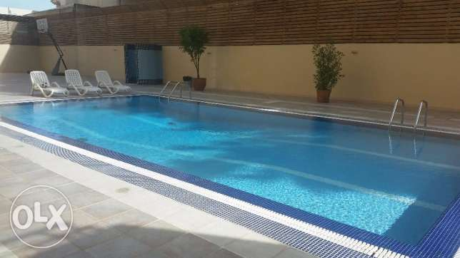 Huge apartment with sea view and balcony for KD 950 in Shaab