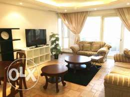 Spacious fully furnished duplex with two bedroom for kd 850