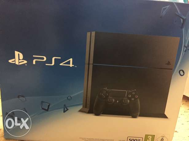 Brand new Ps4 500Gb