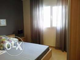 Sea view full furnished three bedroom flat in Salmiya