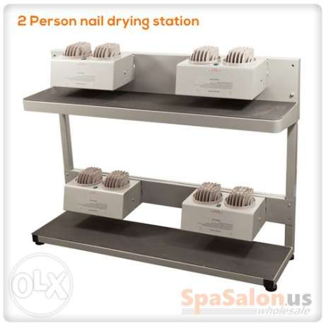 2 person nail drying station -Ideal for Nail Salon/ Spa etc