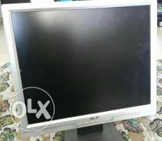 Acer monitor 17 inch lcd
