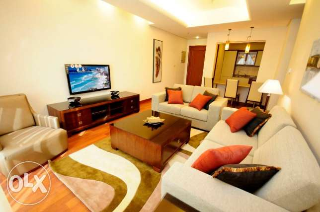 Luxury furnished 2 bd rooms apartments in sharq-kuwait city