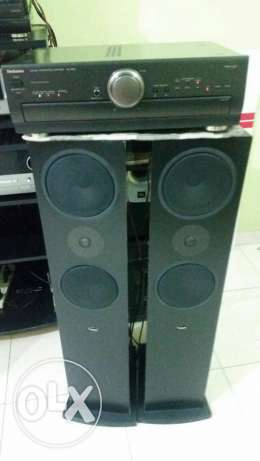 Linn ninka 2 tower speaker and center speaker