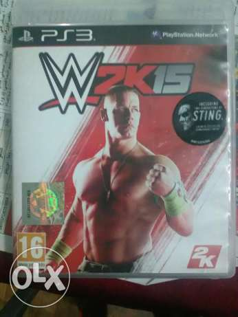 WWE 2k15 for sale for ps3