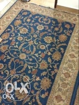 two blue carpet for sale