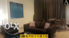 Seaview serviced one bedroom apartment in Bned el Gar
