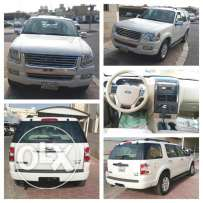 Ford Explorer - 2010 White