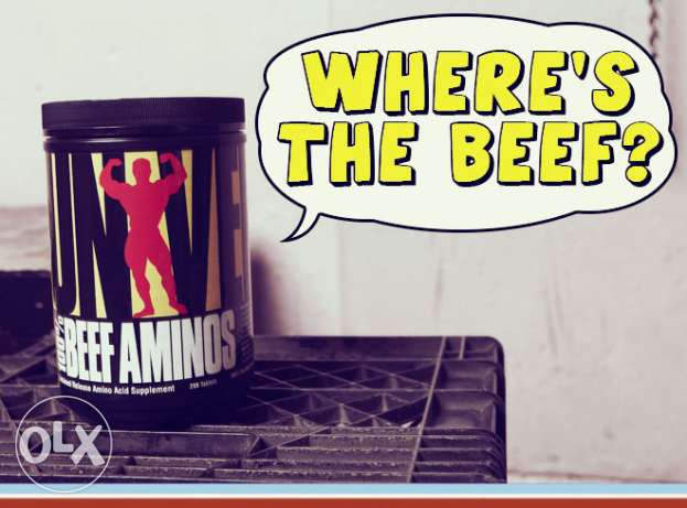 Universal Nutrition Beef Aminos 400 Tablets