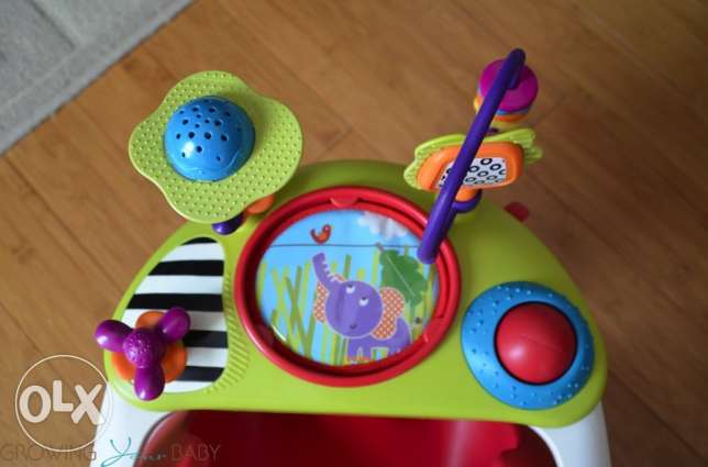 Baby Snug with Activity Tray سلوى -  2