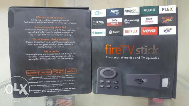 Fire Tv stick by Amazon