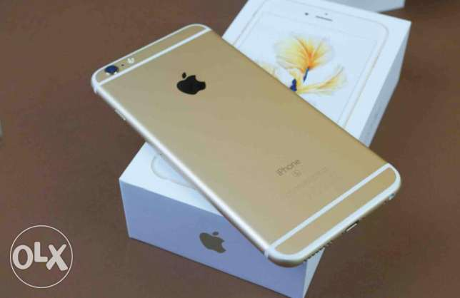 For Sale iPhone 6s Plus - 128GB - Gold Color سلوى -  1
