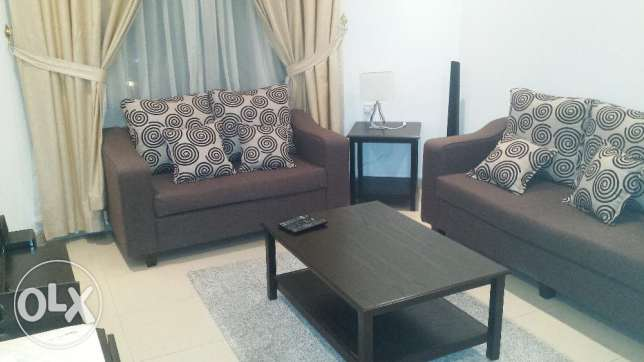 Sea view fully furnished 2BHK, flat for American in Mahbolla