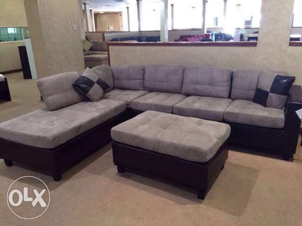 7 seater L shaped couch with table and carpet السالمية -  1
