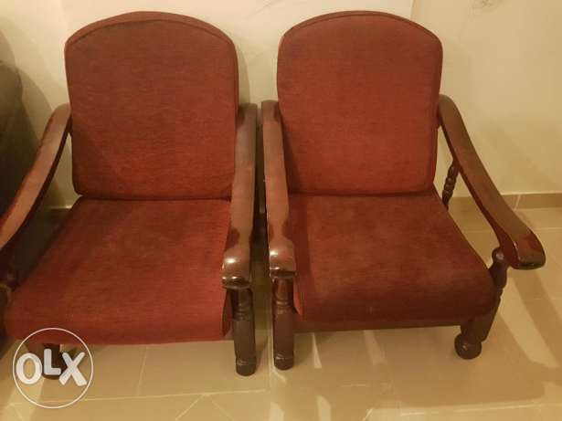 Wooden sofa for sale
