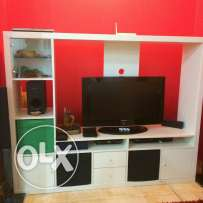 Ikea TV cabinet and samsung TV