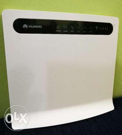 Huawei 4 g lte wireless big fixed router model b593 works with all sim