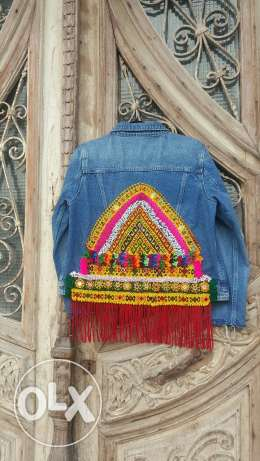 Customized Fringe jacket
