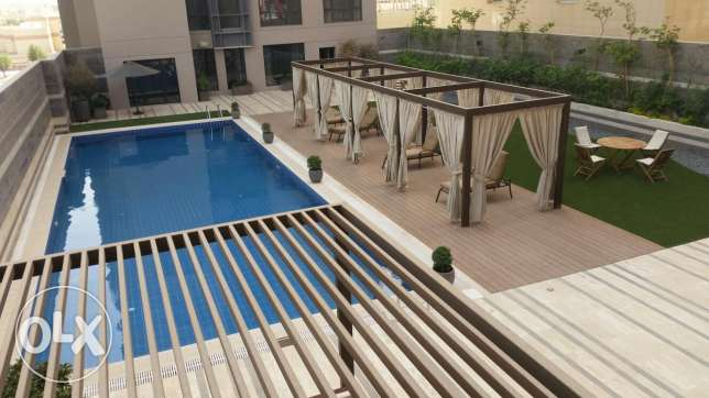 Bneid Al Gar new flat 2 bhk semi or fully furnished with large terrace