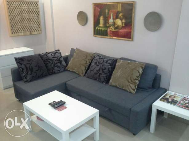 Ikea sofa set with let out bed