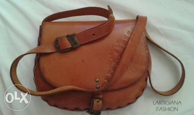 Leather handbag original