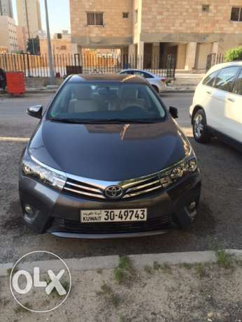 Toyota Corolla 2015 - Full Option - Super Mint Condition