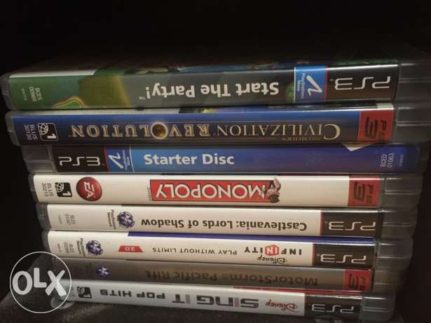 PS3 slim for sale with 31 games and accessories