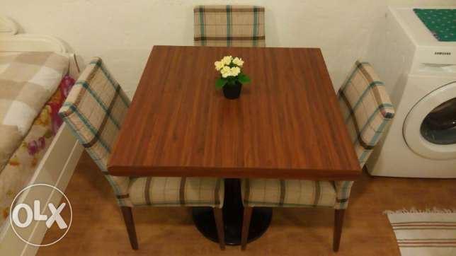 Just 19 KD for Dining table and 4 chairs