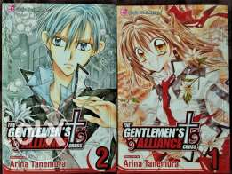 MANGA: Gentlemen's Alliance Cross (volumes 1, 2)