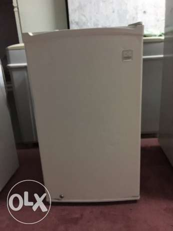 dewoo small fridge & Treadmill for sale