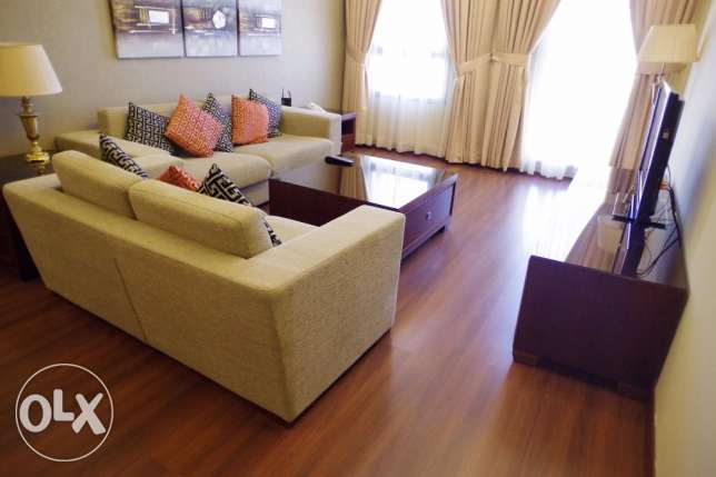 fully furnished, 2 bdr apartment w/pool in Sharq