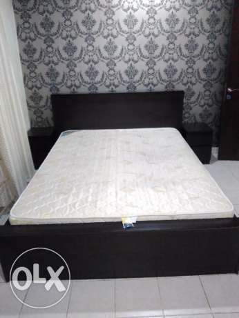 Home Centre Bed with Matress