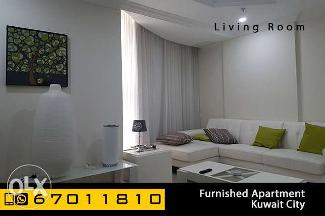 furnished 2 bedroom apartment in Kuwait City