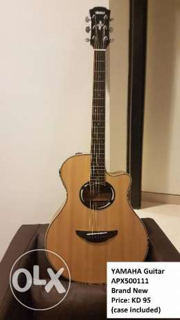 Yamaha APX500III Guitar w/ built-in tuner (less than 1yr old)