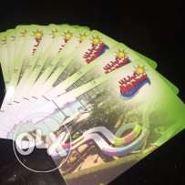 تذاكر اكوابارك Aquapark tickets