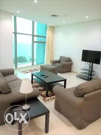 fully furnished flat in sea side in abu helefa