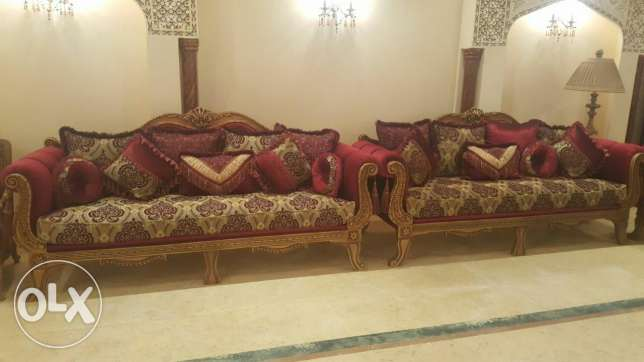 sofa set 4 pises 1 tebale