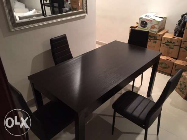 large dining table for 4 for sale