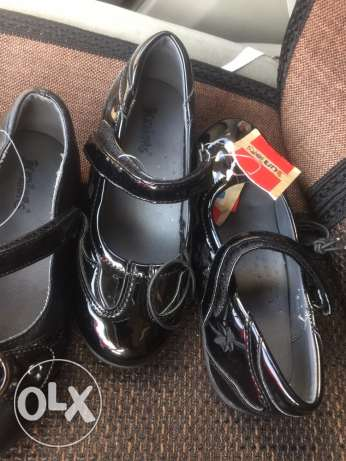 new school shoes black jounres