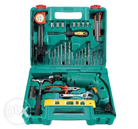 Drill Machine With Complete Tool Set (DCA)