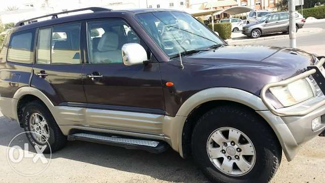 Mitsibishi Pajero 2001 good condition