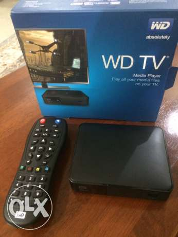 WD TV - Western Digital TV Streamer 1080p DOLBY dts wifi USBX2