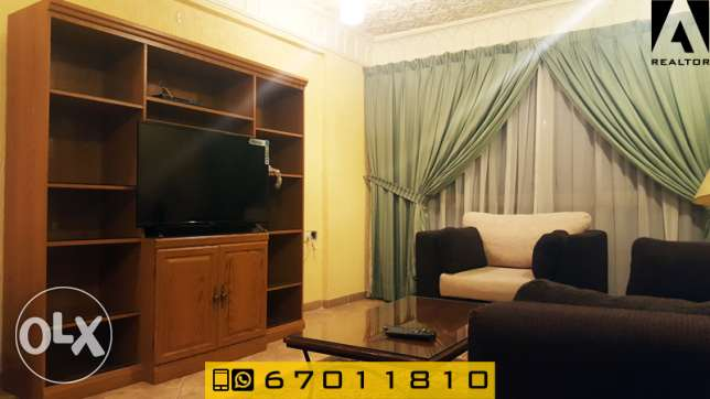 cozy one bedroom apartment furnished for rent in Salmiya السالمية -  4