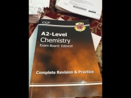Edexcel A2 Level Chemistry CGP Revision Guide