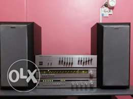 Stereo amplifier system