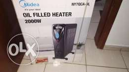 New Midea Oil Filled Heater (2000W)