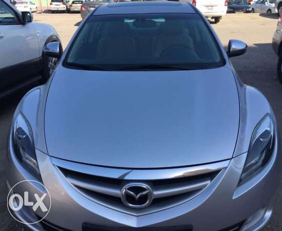 Mazda-6 Ultra / 6 Cylinder full option with sunroof for sale