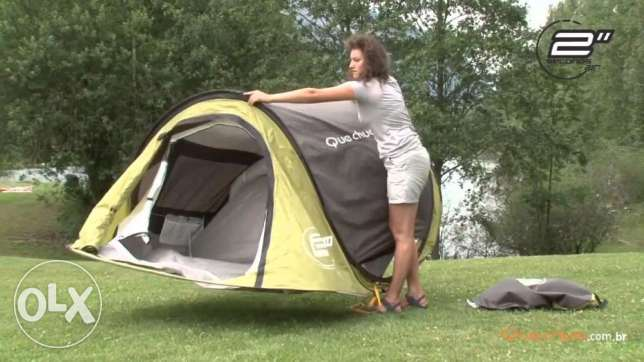 Camping Tent 2 seconds - Decathlon السالمية -  1